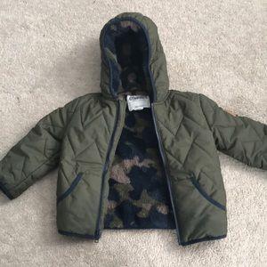 Hunger green toddler jacket